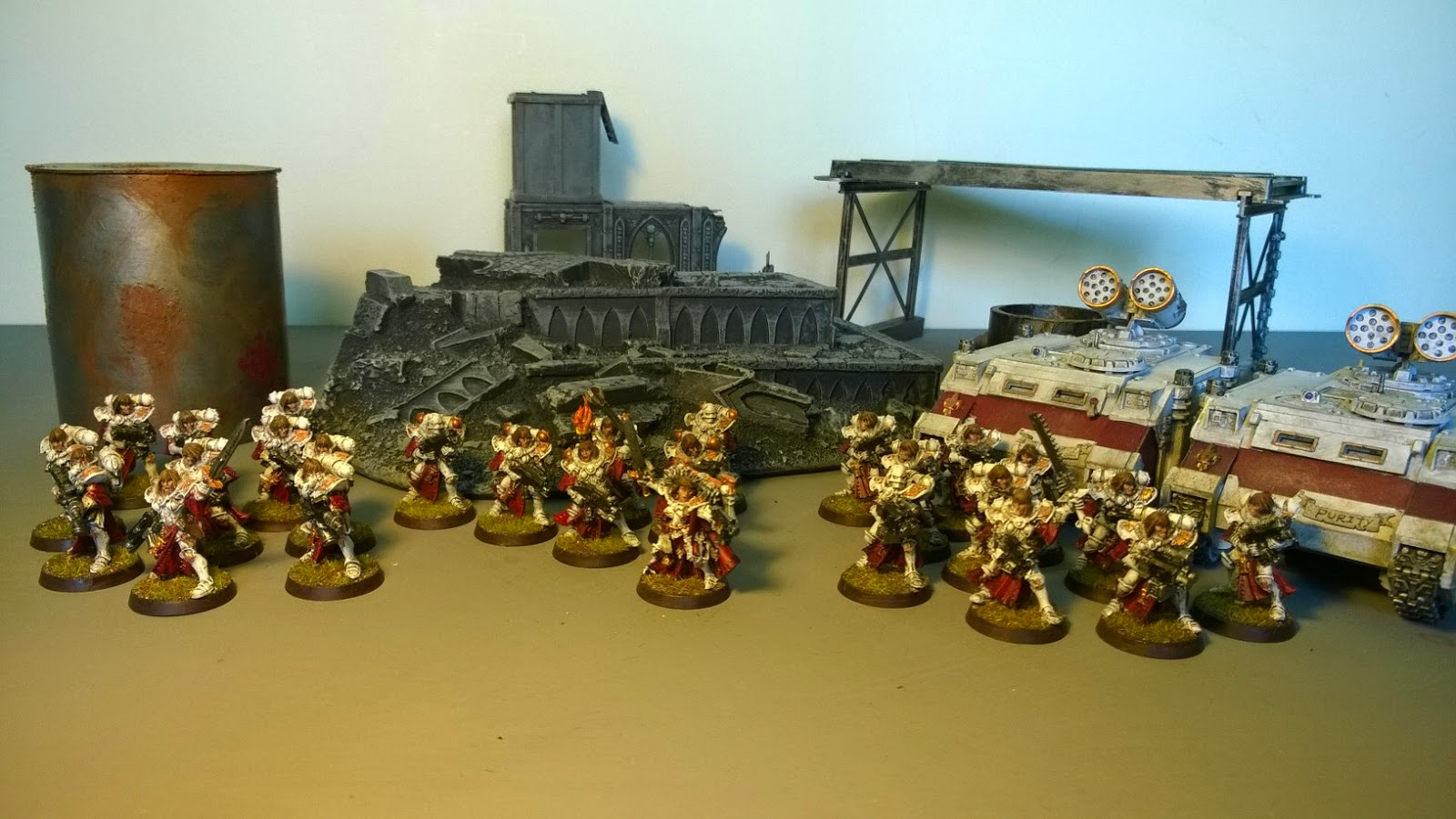 sisters of battle army force 750 points