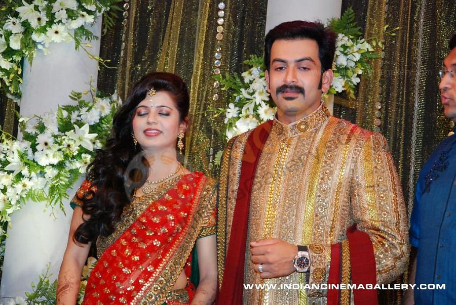 Latest Movie News Online: « Prithviraj Wedding Photos and ...
