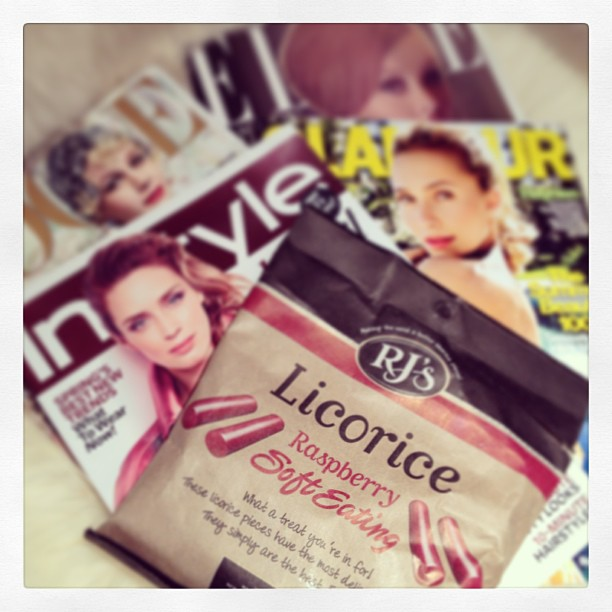 best licorice ever, fashion magazines