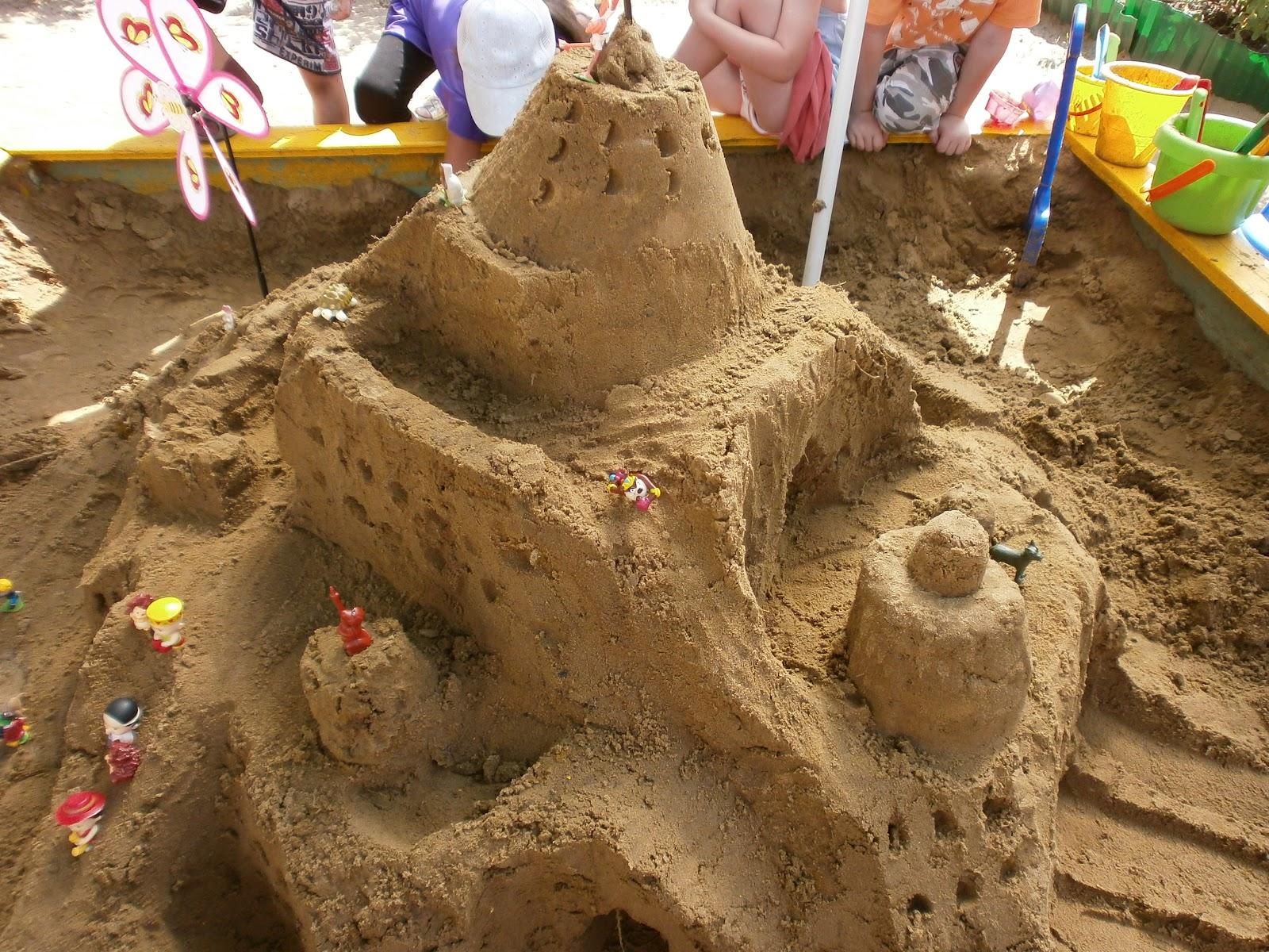Поделки на песке в детском саду