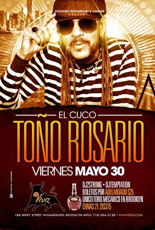 Toño Rosario at Viva Toro