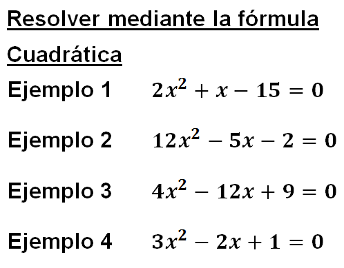 definicion de una ecuacion cuadratica: