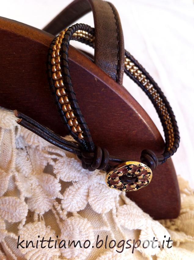 Chan luu style hand made bracelet