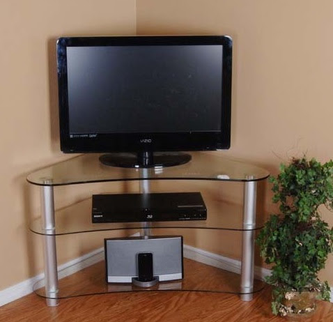 A flat tv stand for small spaces gramophone small corner cabinets dining room foter hokku - Tv stands small spaces ideas ...