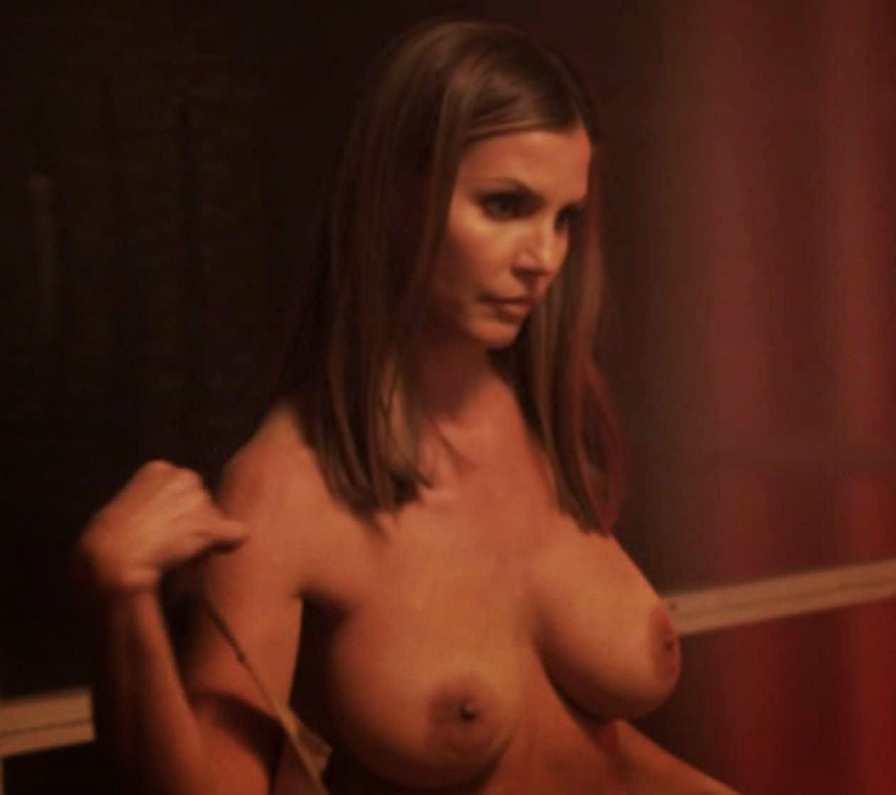 Charisma Carpenter strips for kinky S&M scenes