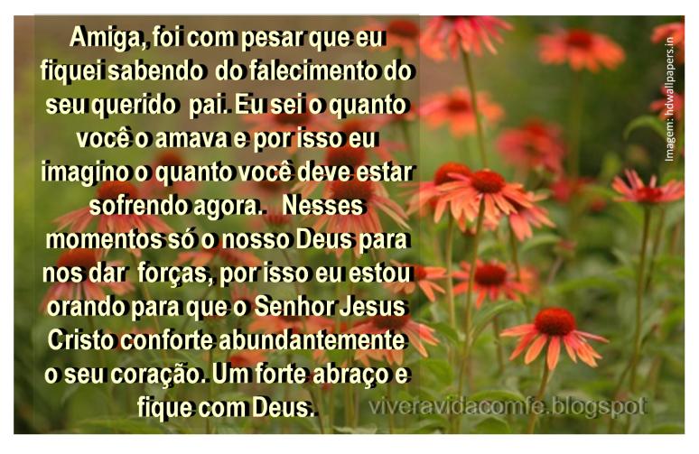 Mensagens de Fé da Palavra de Deus: Mensagem de conforto para uma ...