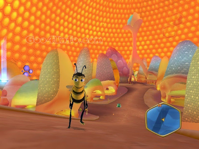 Bee Movie: Spelling Bee Online Game - Dan Dare