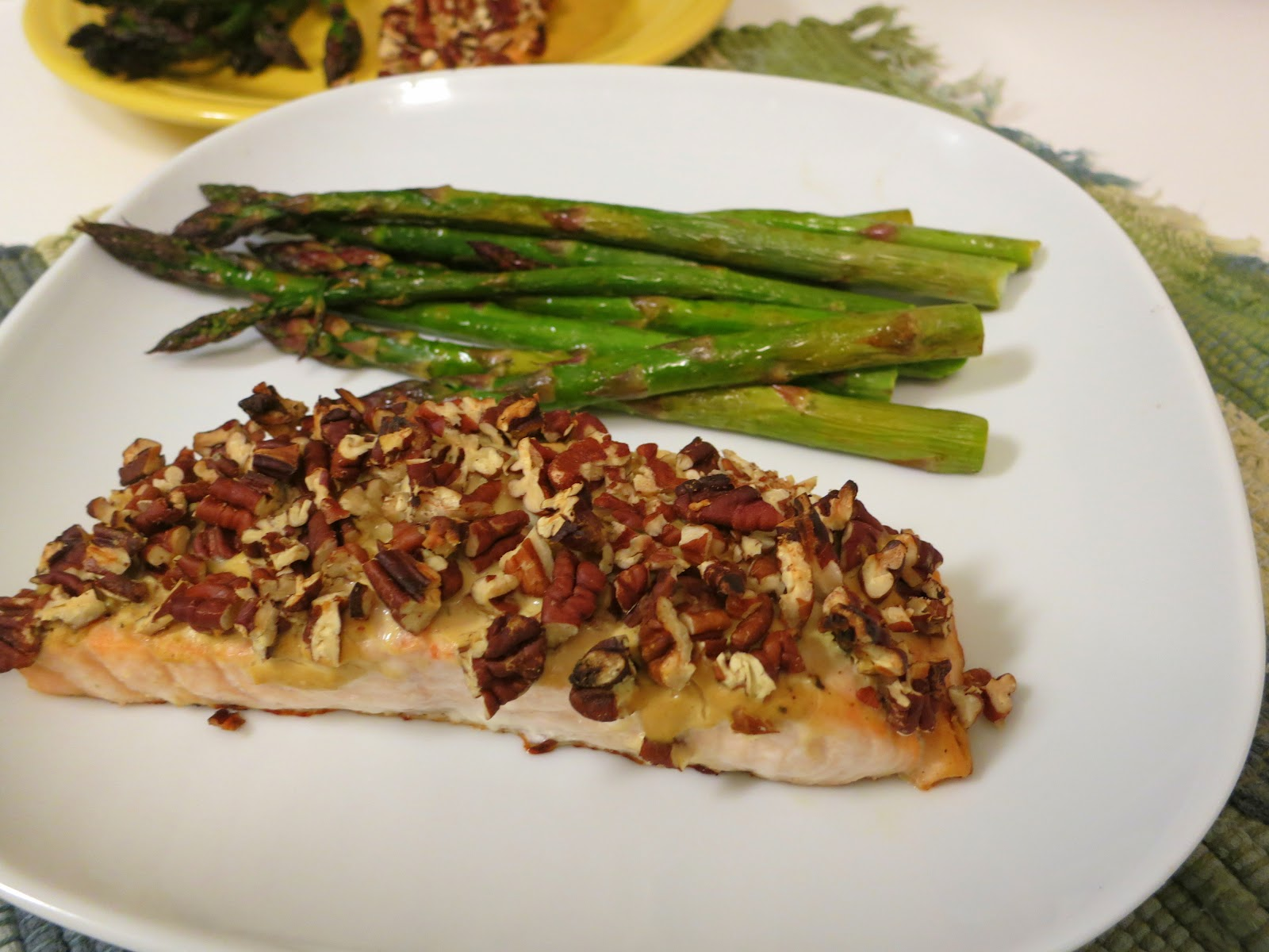 ... easy pecan crusted dijon quick and easy pecan crusted t finely