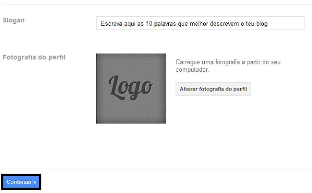 Como criar uma página para o seu blog no Google Plus - Step 4