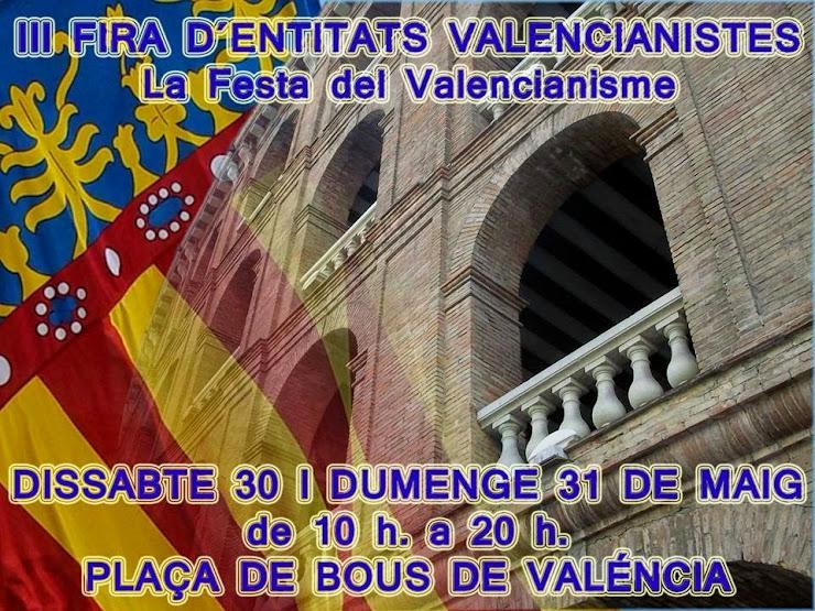 III FIRA D'ENTITATS VALENCIANISTES