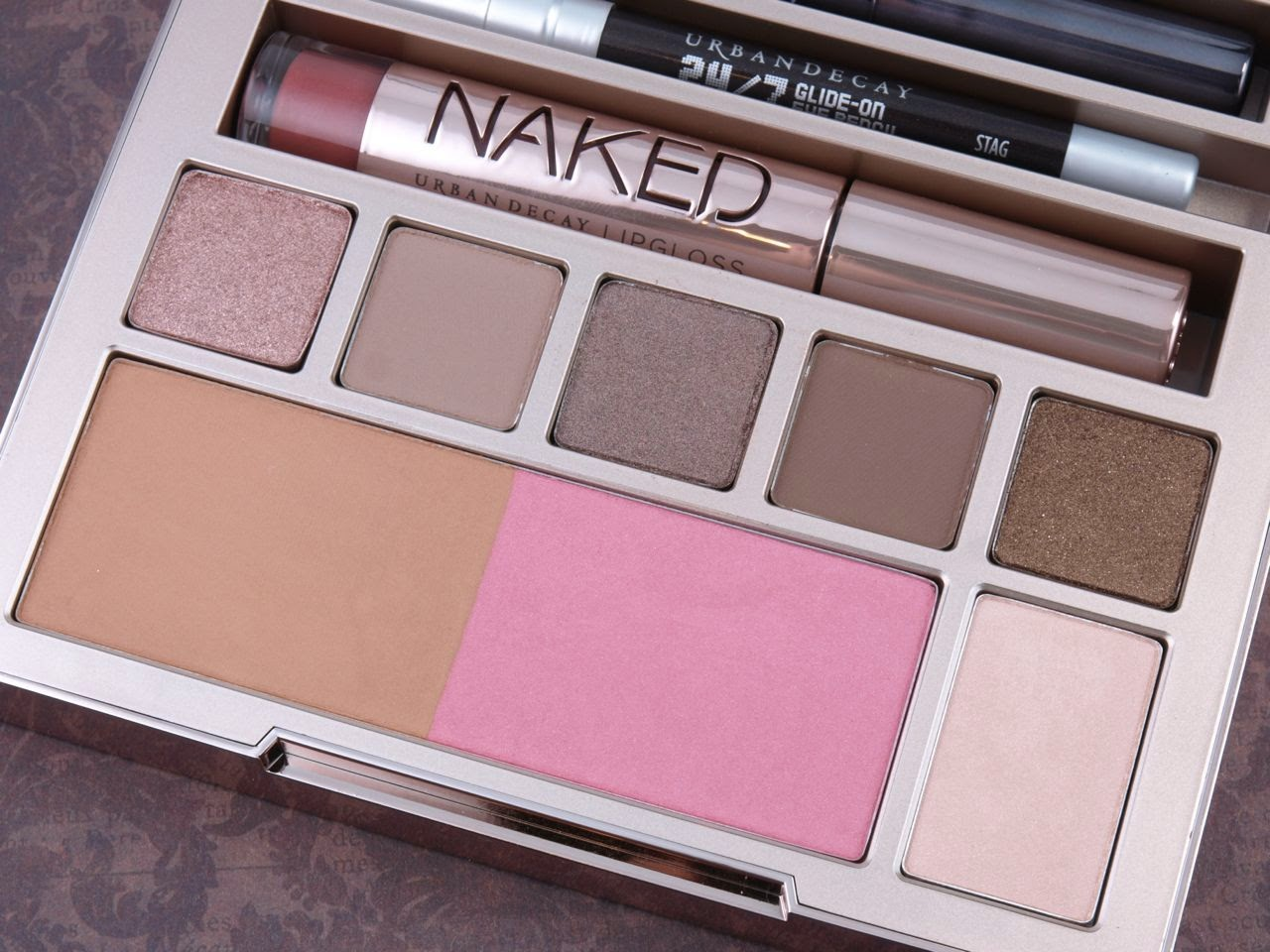 Urban Decay Naked On the Run Palette: Review and Swatches