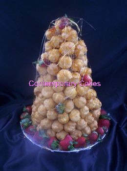 New Croquembouche Tower.