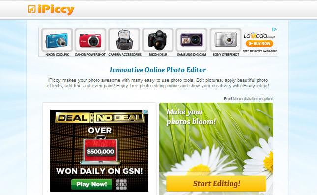Photo Editor : Ipiccy