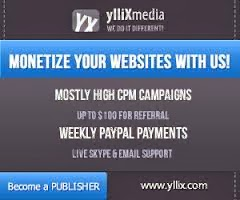 Make Money Online From Yllix Media