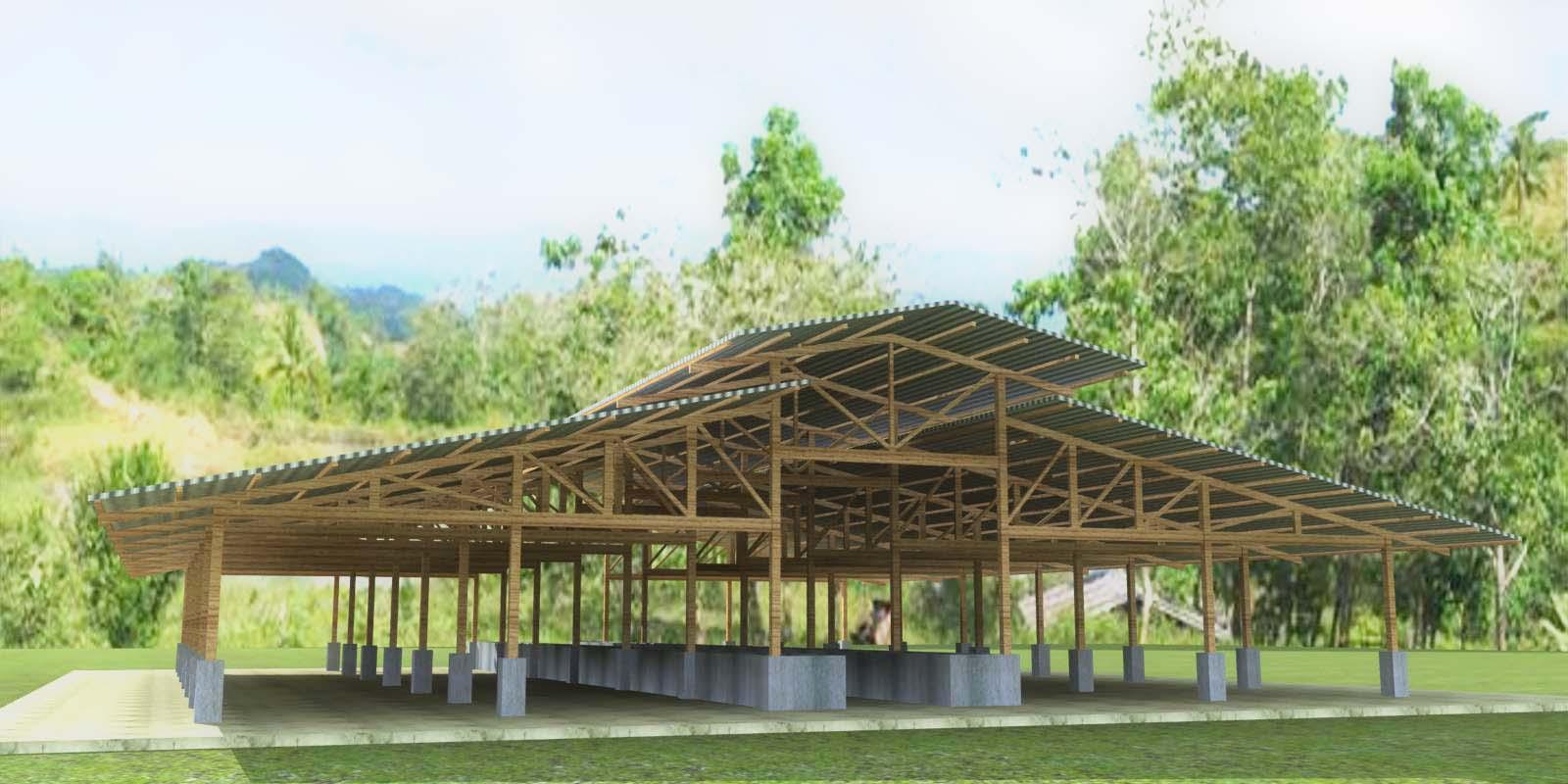 Cattle shed designs joy studio design gallery best design for Cebu home designs