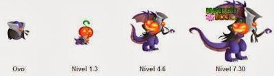 Dragão Halloween - Informações