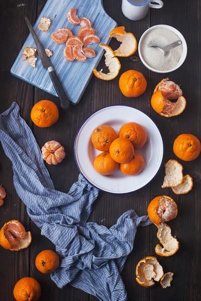 Mandarin Jam Making