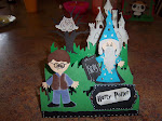 Harry potter movie card
