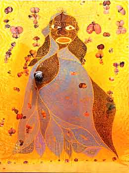 chris ofili s the holy virgin mary Chris ofili's art form is often ofili's painting title 'the holy virgin mary' was part of an exhibition at the brooklyn museum of art which led to a.