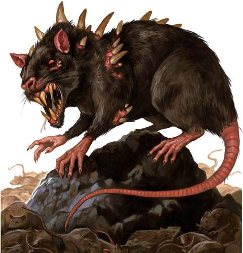 Pathfinder Dire Rat