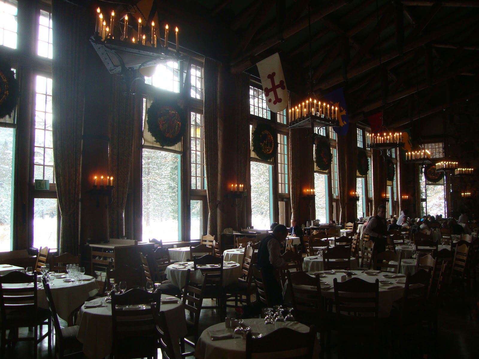 blogkitch photo gallery yosemite national park december 2013 incredible ahwahnee hotel dining room