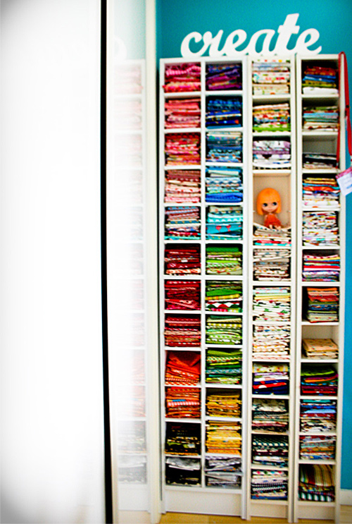 10 ways to organize your sewing room