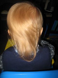 Maximilian First Haircut Before