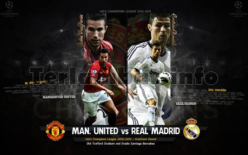 Jadwal MU VS Madrid 2013