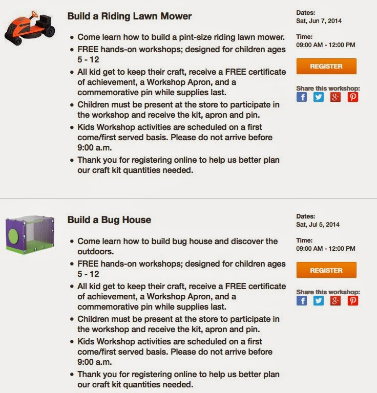 http://workshops.homedepot.com/workshops/kids-workshops