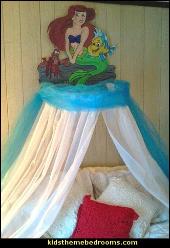 Decorating Theme Bedrooms Maries Manor Little Mermaid