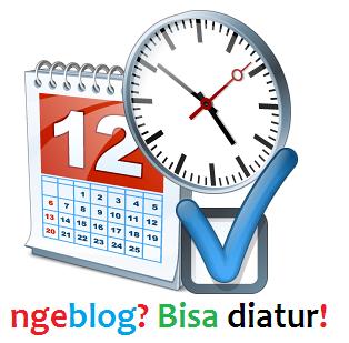 cara setting jadwal publikasi postingan blog