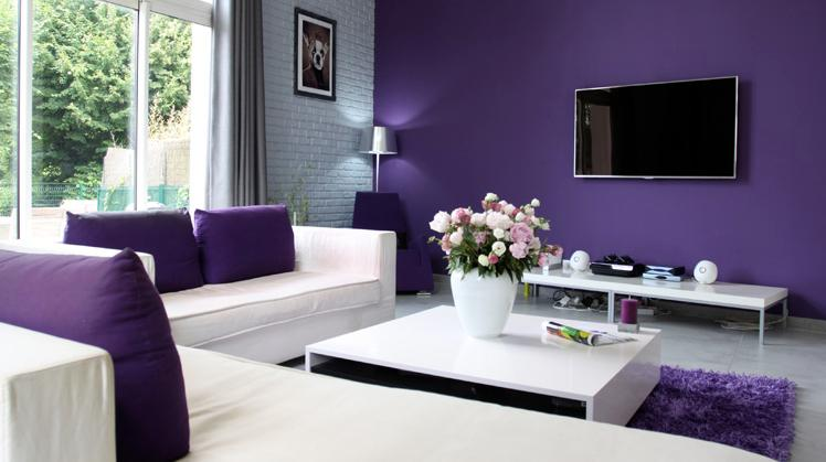 Ideas for painting the living room with pretty colors Big Solutions