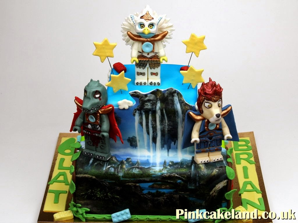 Lego Chima Birthday Cake, London