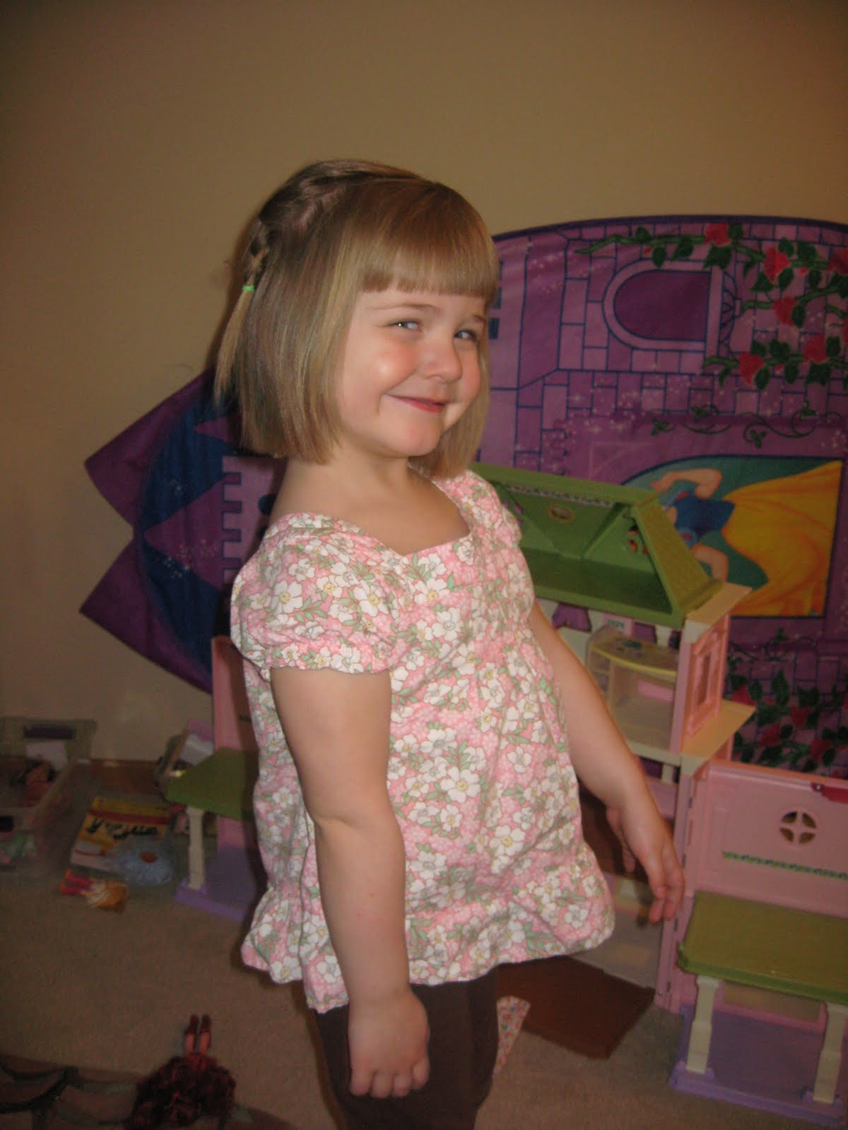 At her 4 year old check up on April 11, Keifer was (as always) in the ...