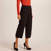 Pantaloni trei sferturi stretch pentru femei (Votre Mode)