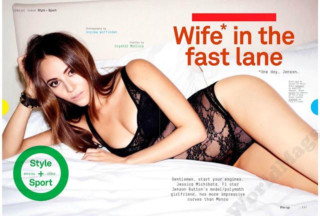Jessica Michibata Esquire UK Magazine 2013