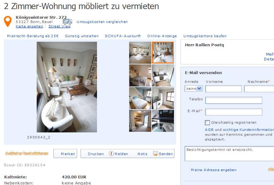 Wohnungsbetrug2013 informationen ber wohnungsbetrug for 2 zimmer wohnung wuppertal