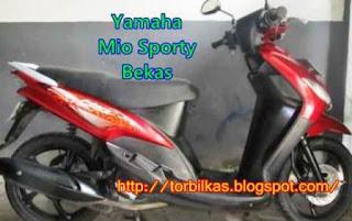 Harga Yamaha Mio Sporty Bekas Termurah