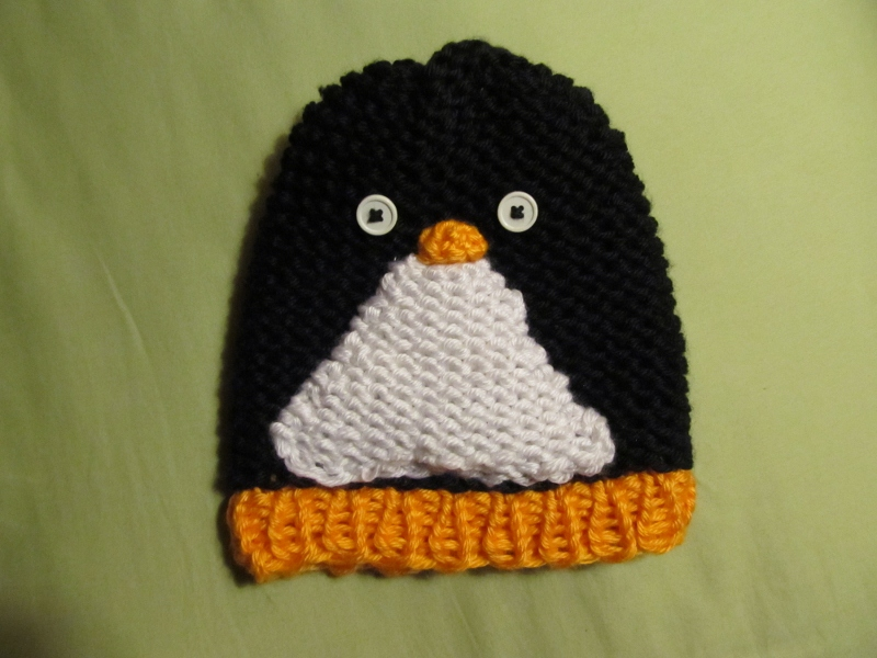 This Mama Knits Penguin Hat