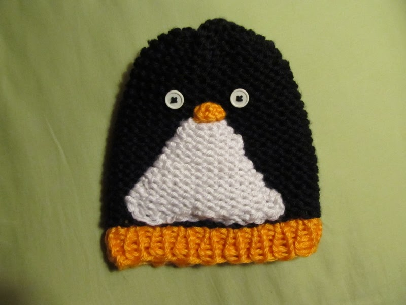 This Mama Knits: Penguin Hat