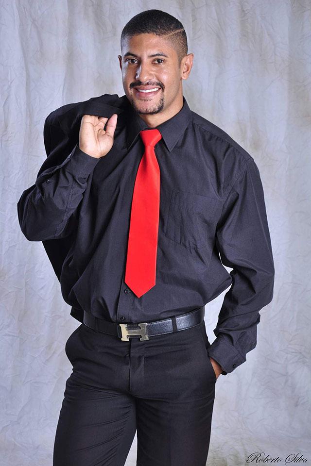Wendercson Carneiro foi eleito Mister Eco Salinas 2015. Foto: Roberto Silva