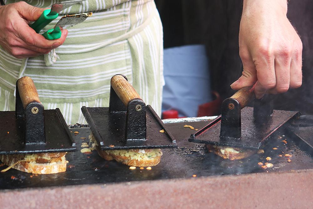 Artisan Toasties at The Old Bakery at Kirkstall Deli Market