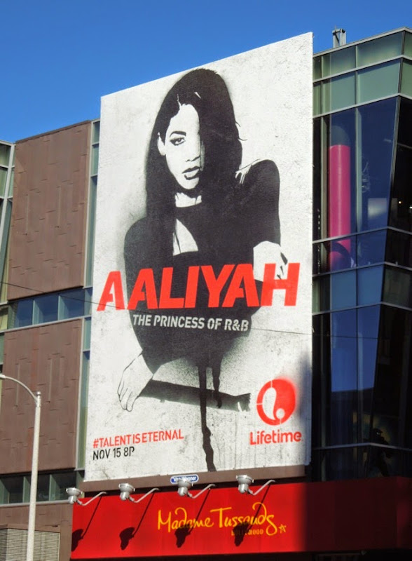 Aaliyah: The Princess of R&B billboard