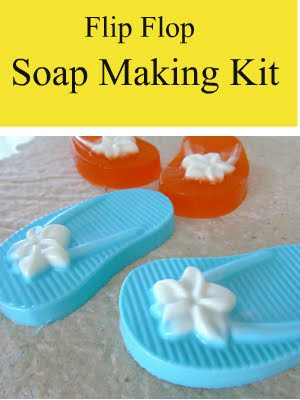 Order a soap kit on the website