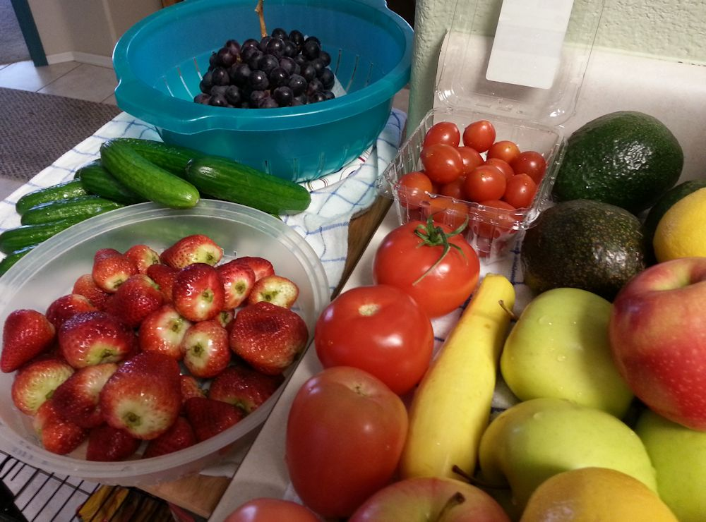 Pick From a Rainbow of Beautiful Fruits and Veggies pictures