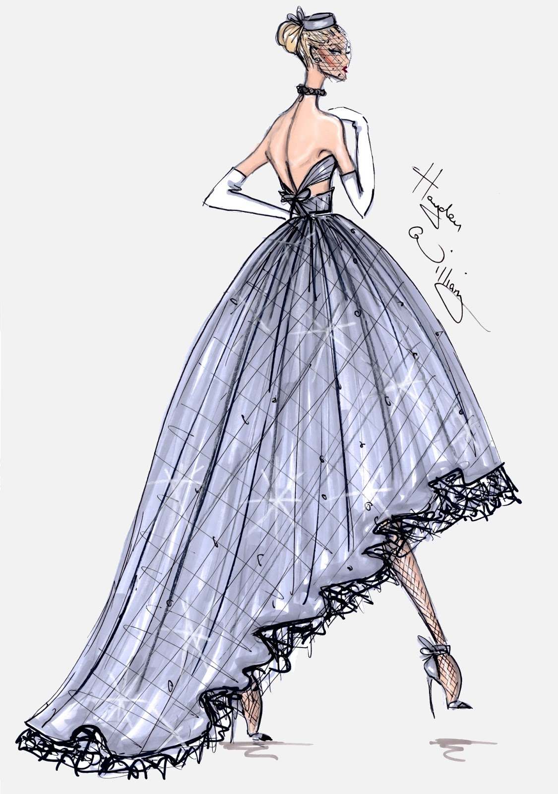 Hayden williams fashion illustrations hayden williams for Haute design