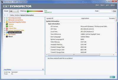 ESET SysInspector 1.2.034.0