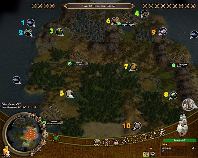 Civilization 4 Colonization - Bonus Resources Screenshot