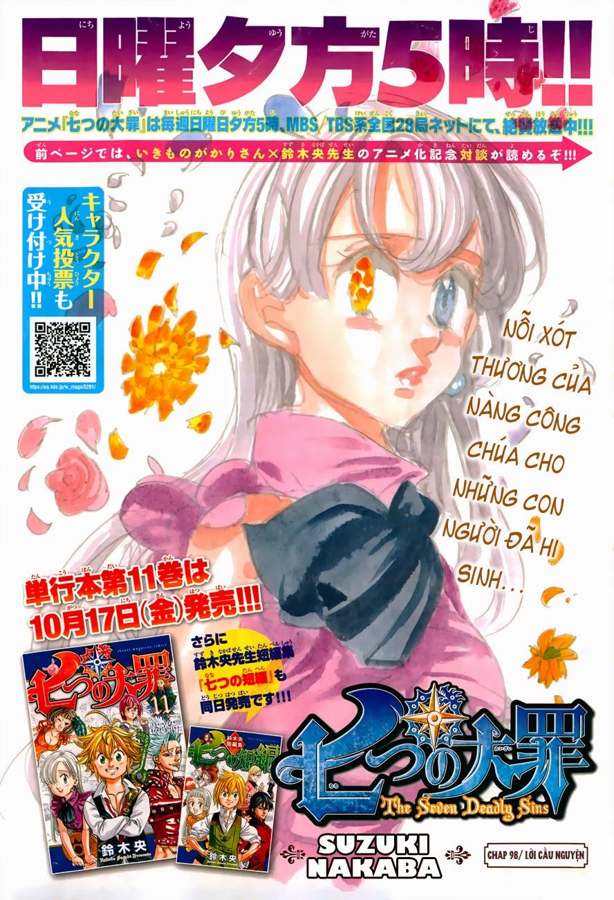 Nanatsu no Taizai chap 98 Trang 1 - p0sixspwn.com