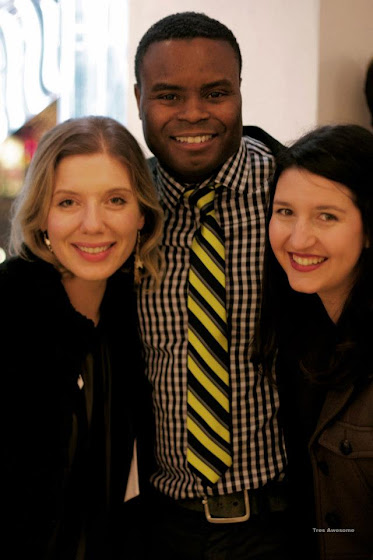 Burberry Art of the Trench party with Emma Arnold, Marcus Riley & Amy Cryer